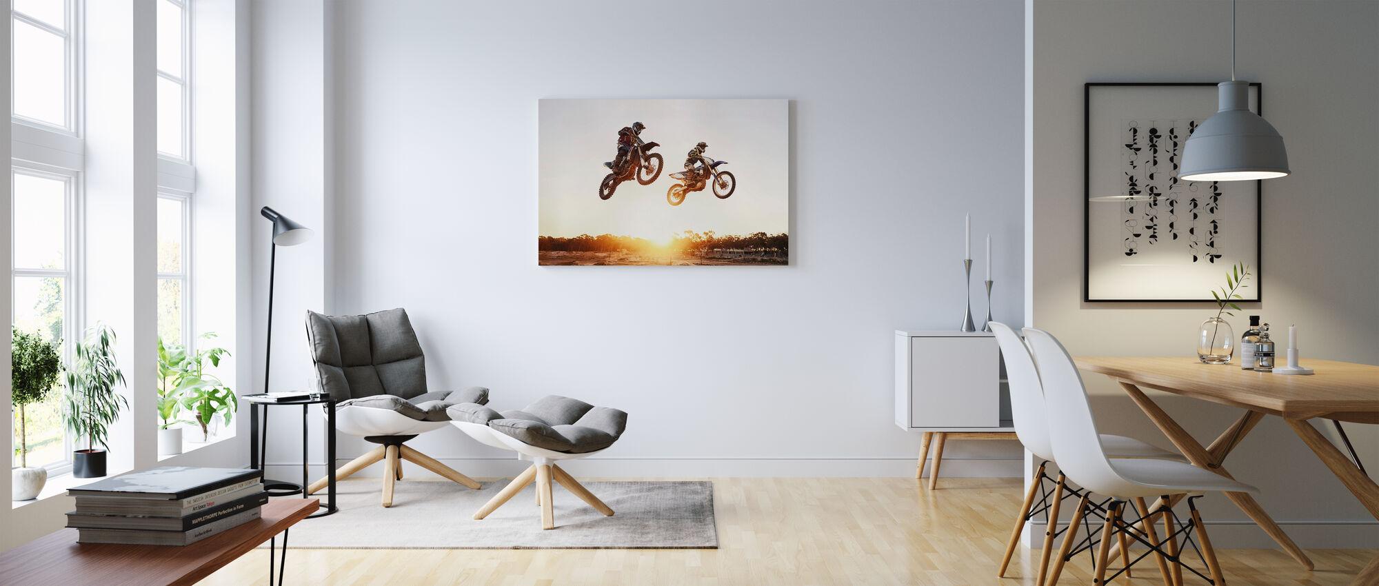 Off Road Racing - Canvas print - Living Room