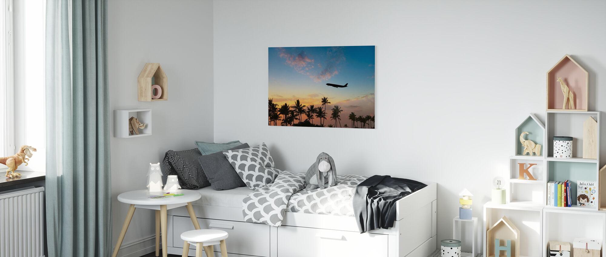 Tropical Airways - Canvas print - Kids Room