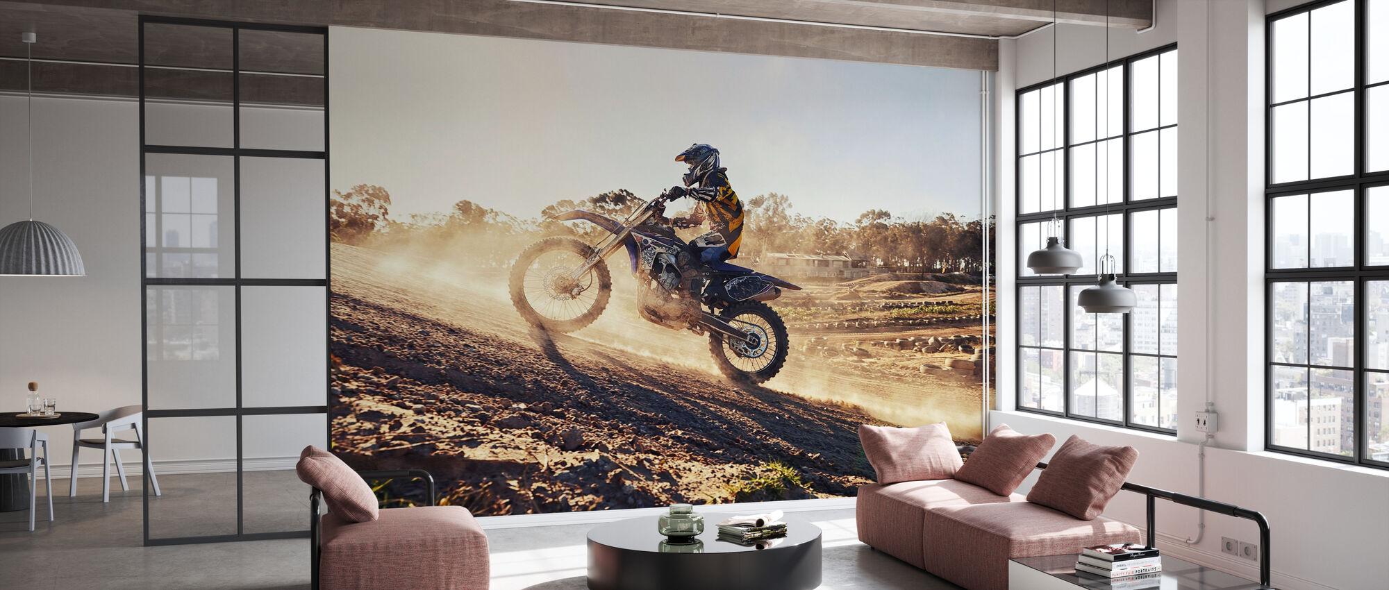 Rising - Wallpaper - Office