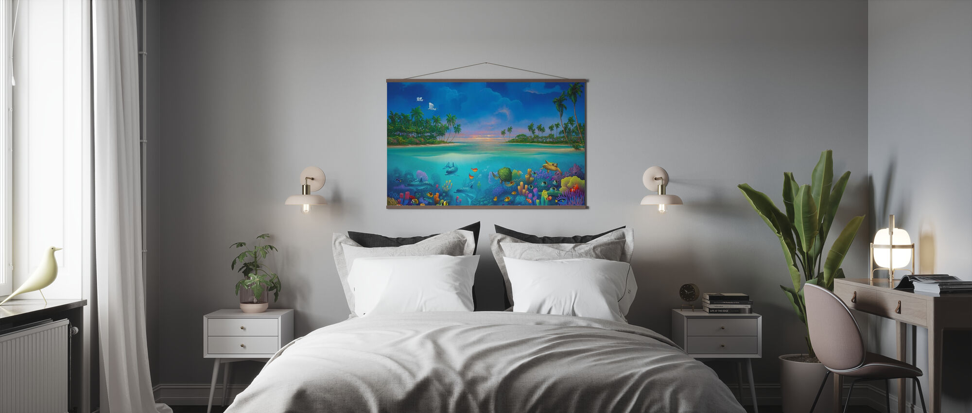 Below Paradise - Poster - Bedroom