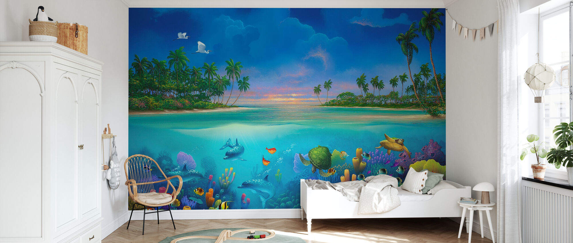 Below Paradise - Wallpaper - Kids Room