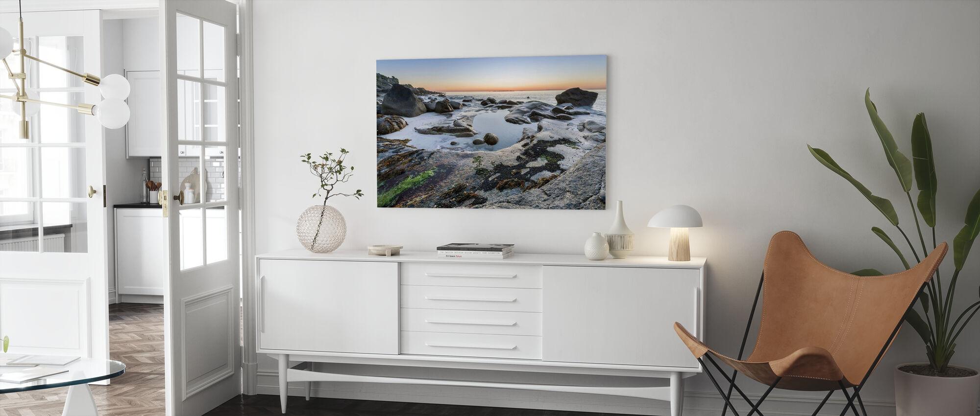 Lofoten Coastline - Canvas print - Living Room
