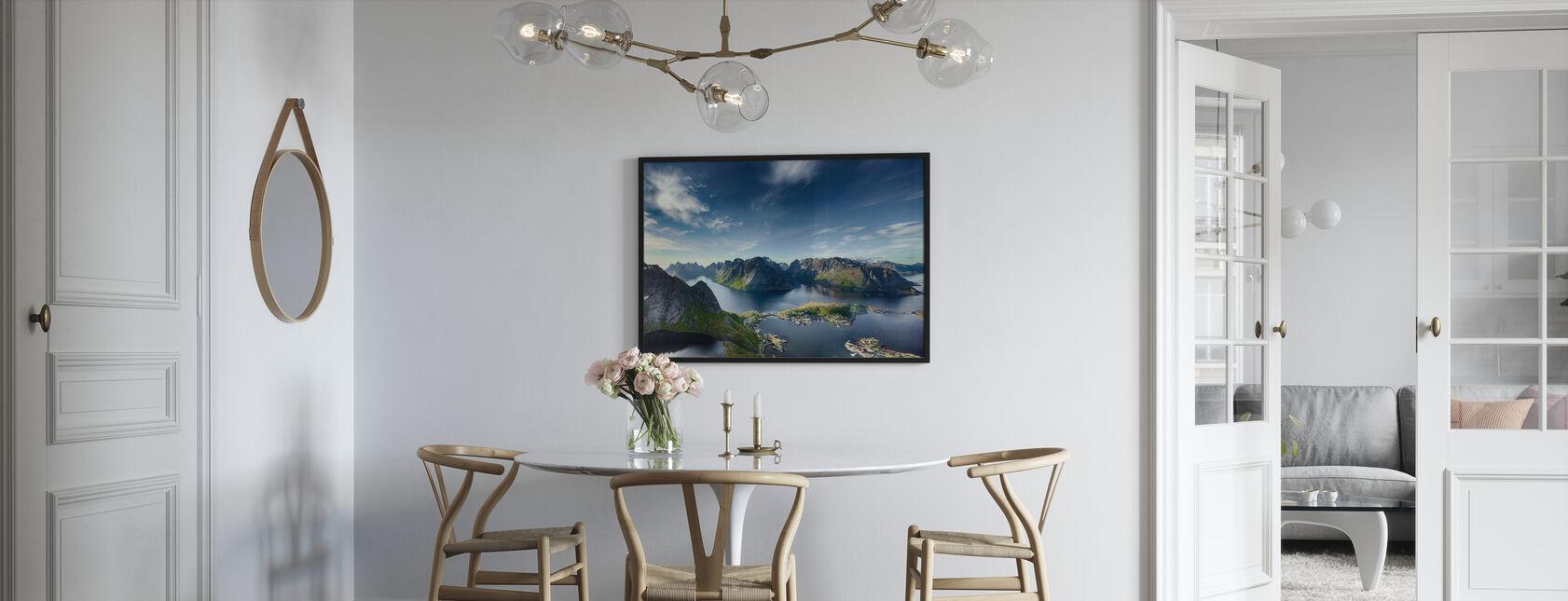 Reine i Lofoten, Norge - Plakat - Kjøkken