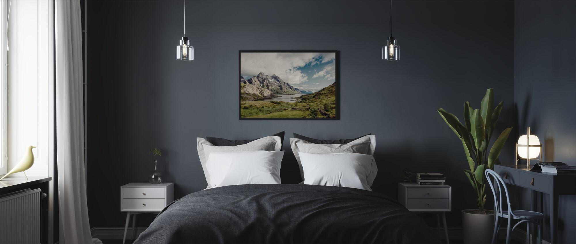 Himmeltindan, Norja - Kehystetty kuva - Makuuhuone
