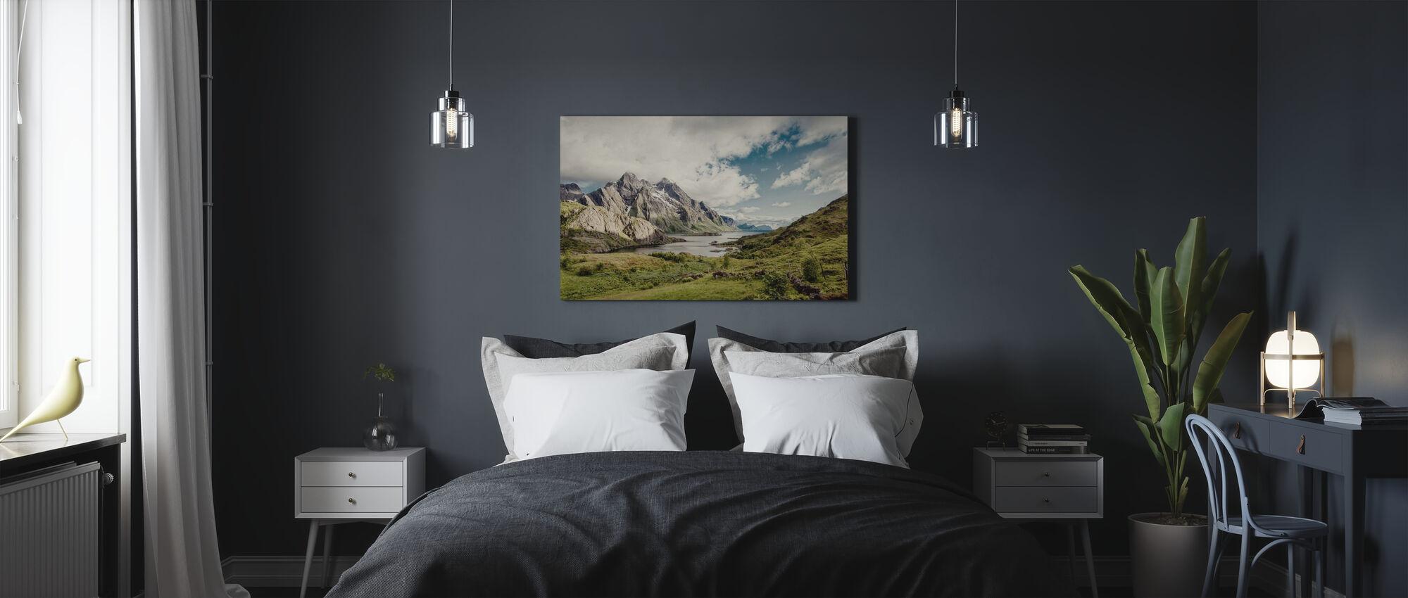 Himmeltindan, Norway - Lerretsbilde - Soverom