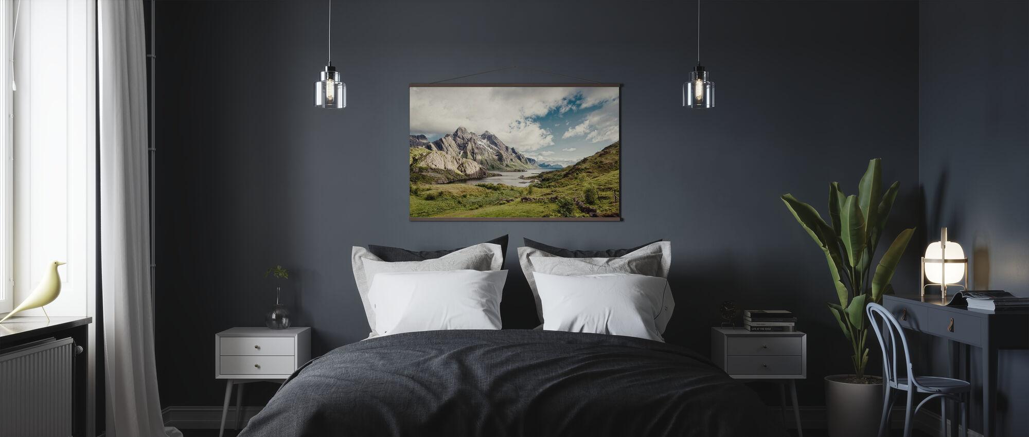 Himmeltindan, Norge - Poster - Sovrum
