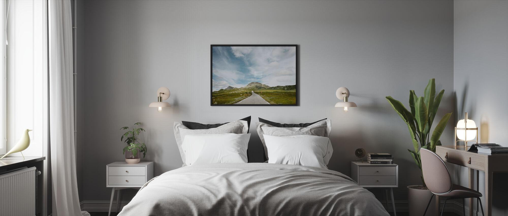 Pass Road, Norway - Poster - Bedroom