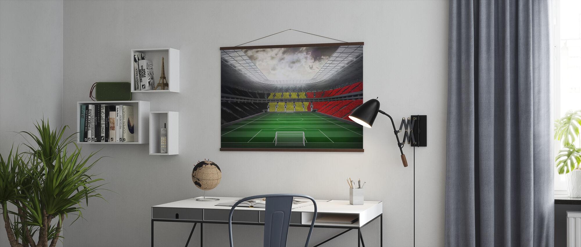 Giant Soccer Stadium - Poster - Office