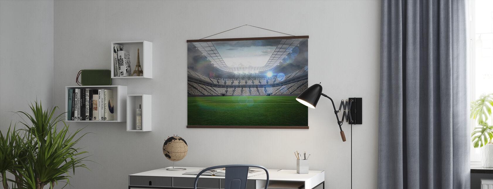 Fotball Arena - Plakat - Kontor