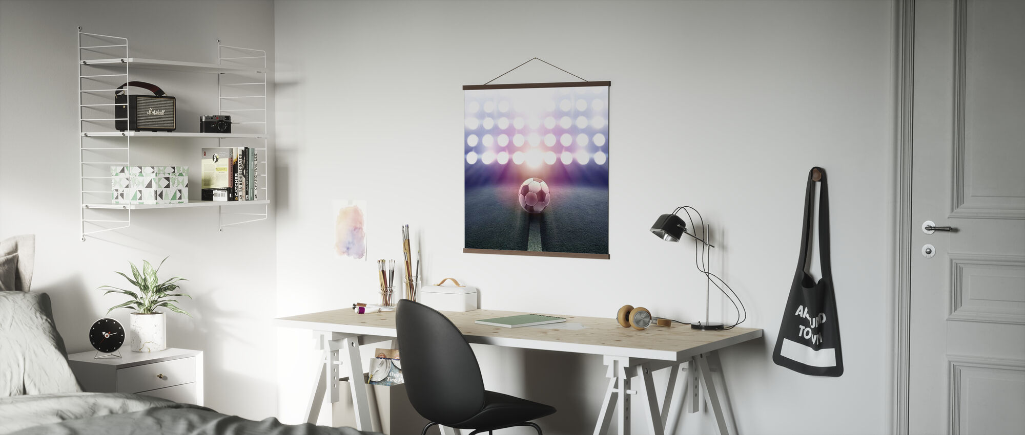 Spotlight Voetbal - Poster - Kantoor