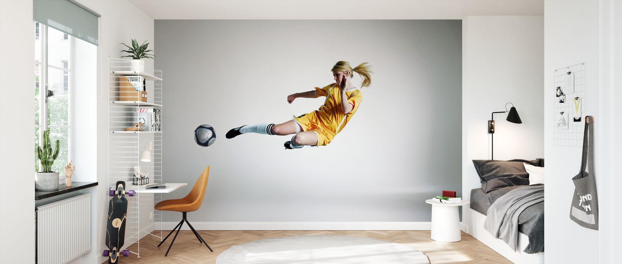 Skilled Player - Wallpaper - Kids Room