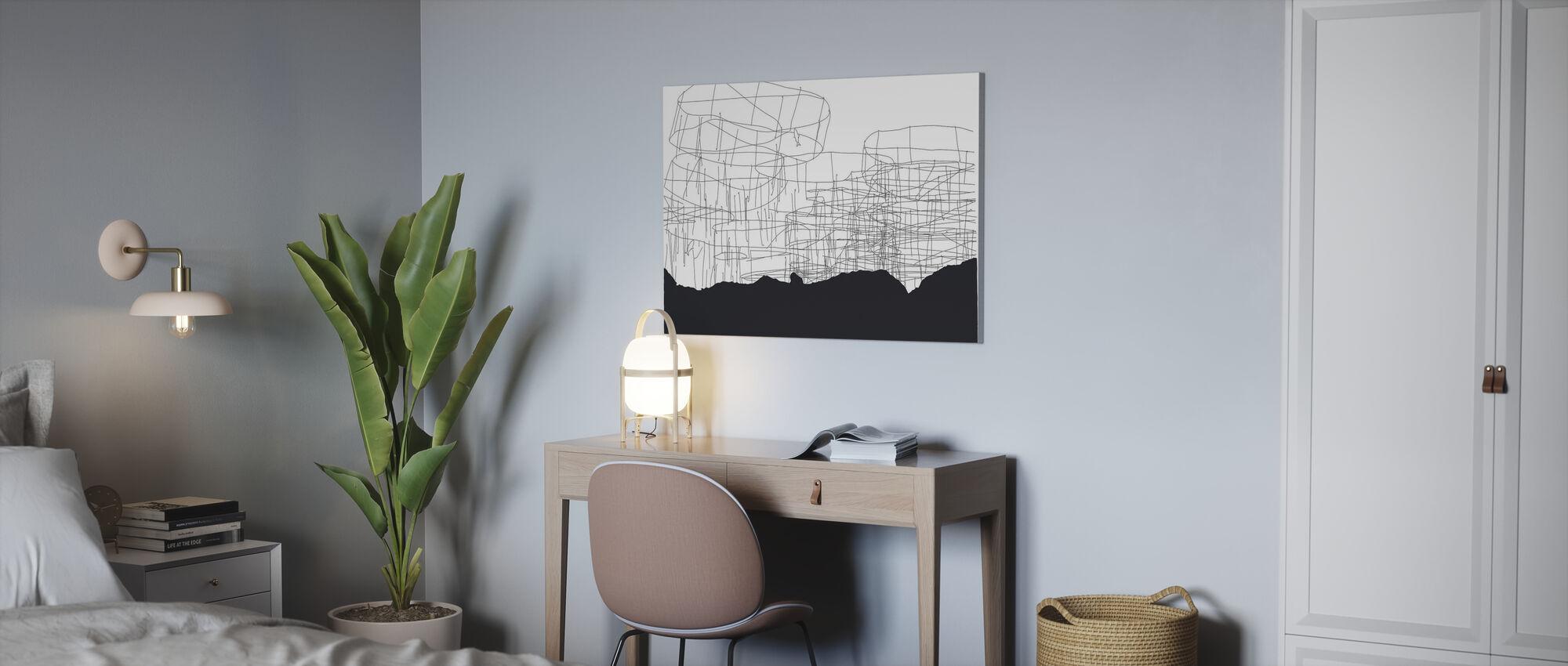 Harbour Fish - Canvas print - Office