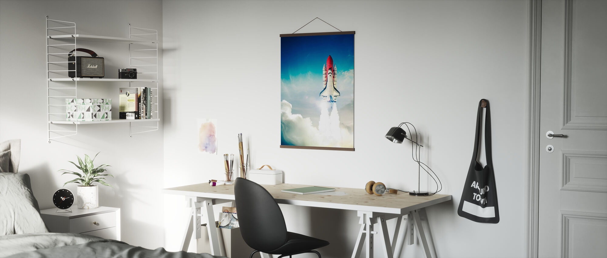 Space Shuttle Taking off - Poster - Office