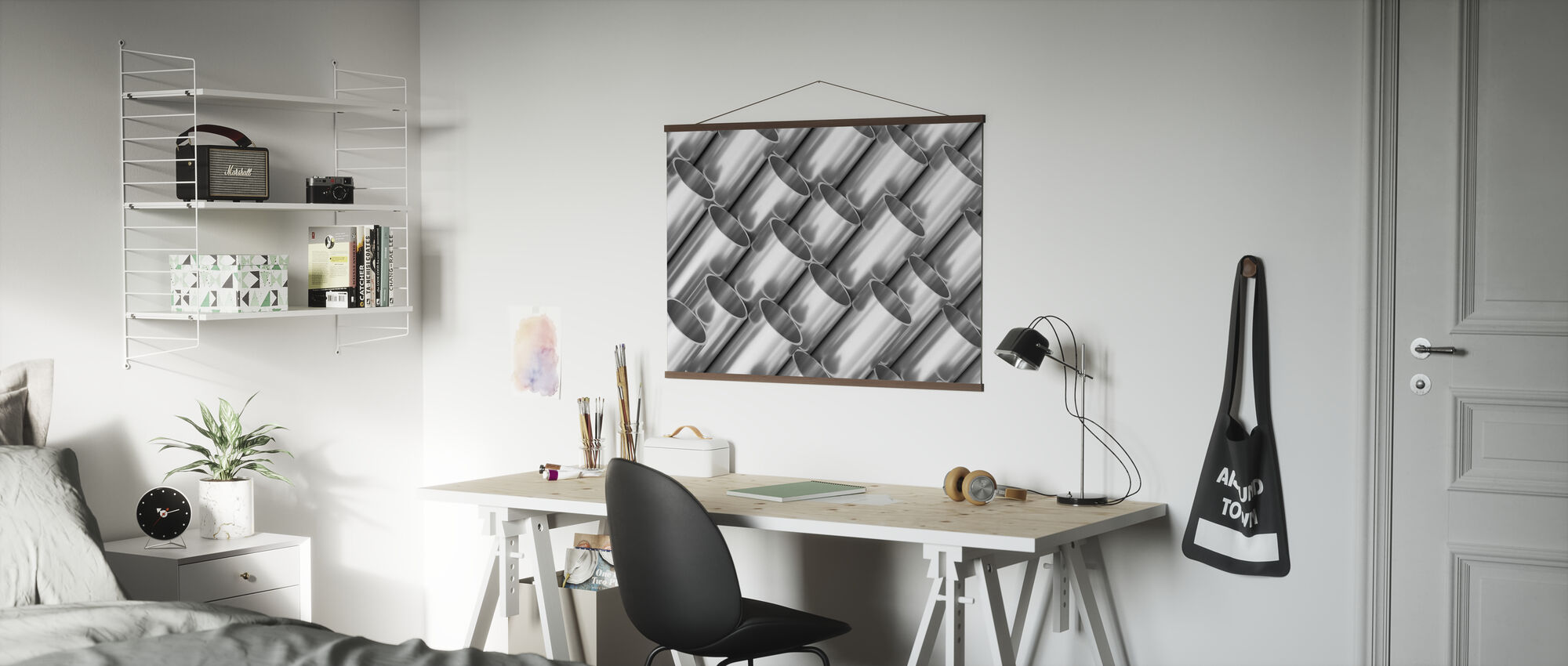 Metal Pipes - Poster - Office