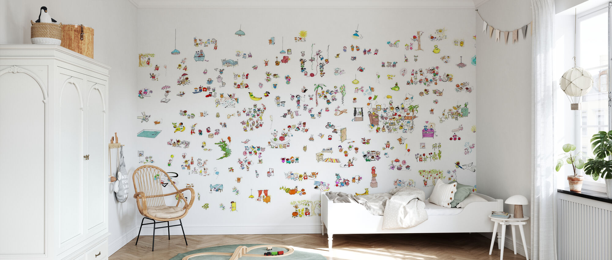 Motley Myller - Wallpaper - Kids Room