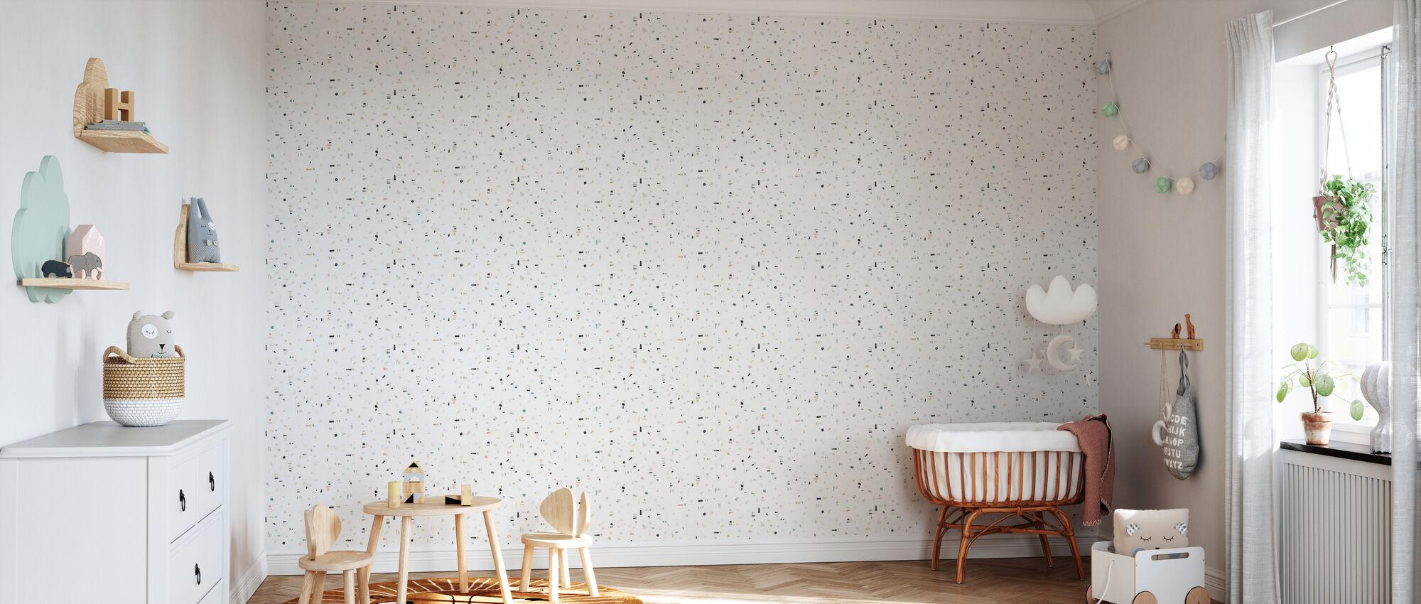 Affinity - Green - Wallpaper - Nursery