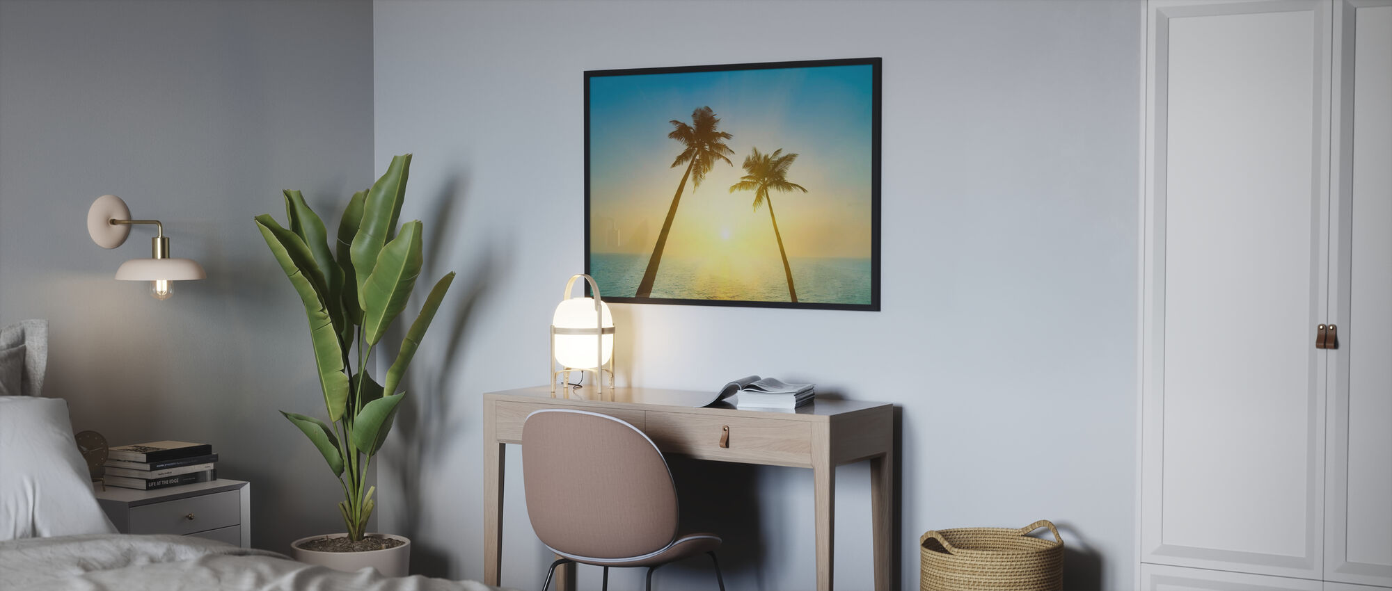 Goa Beach Sunset - Poster - Bedroom