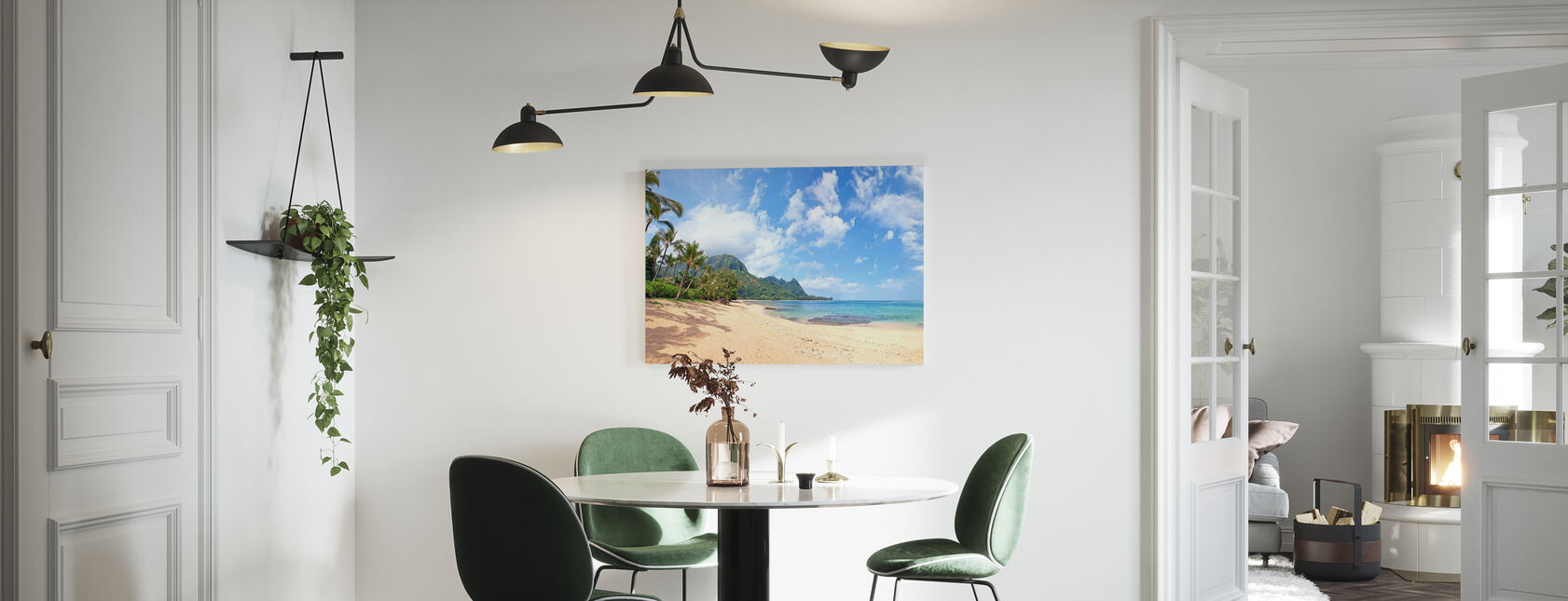 Hawaiian Beach Pit - Canvas print - Kitchen