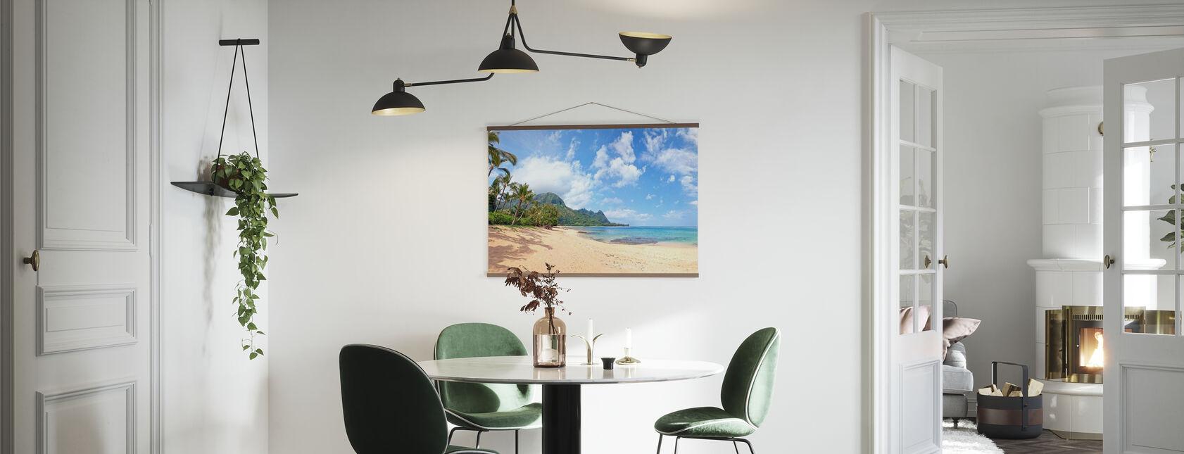 Hawaiian Beach Pit - Poster - Kitchen