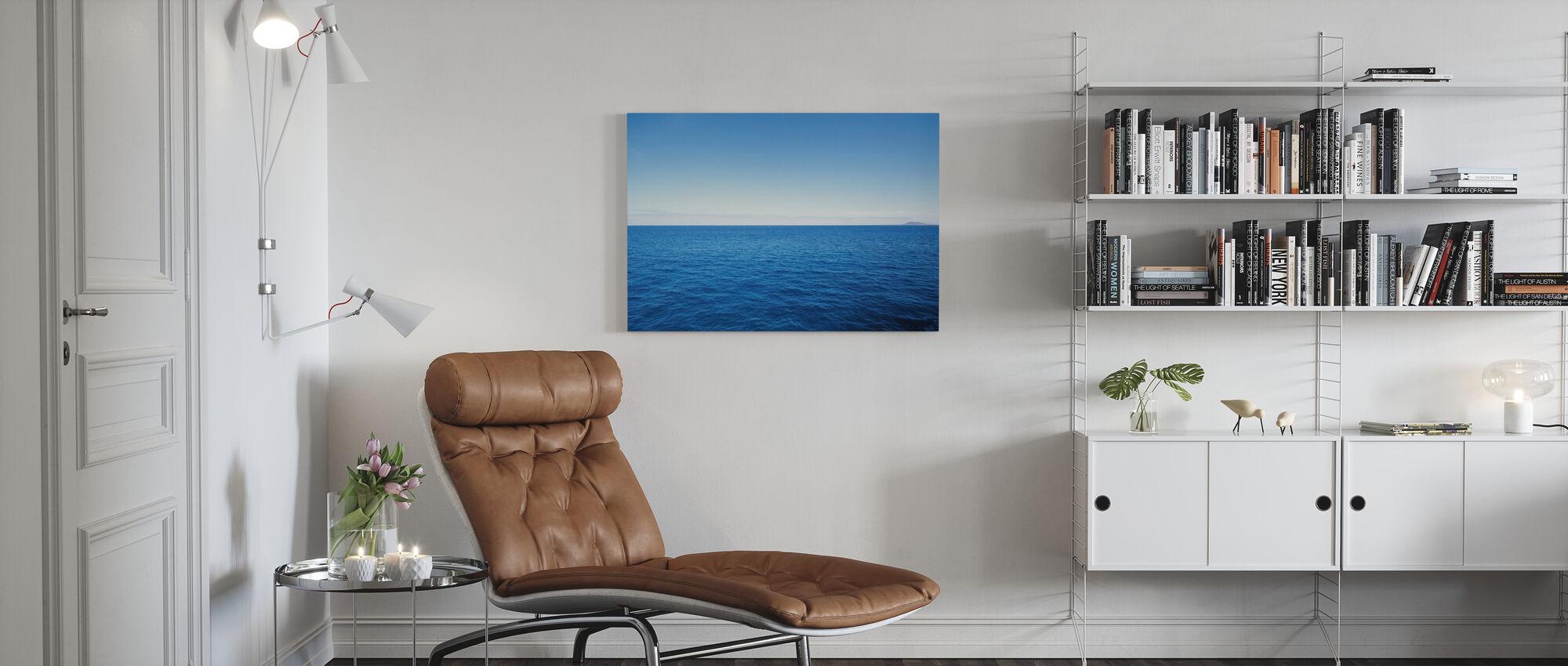 The Big Blue - Canvas print - Living Room