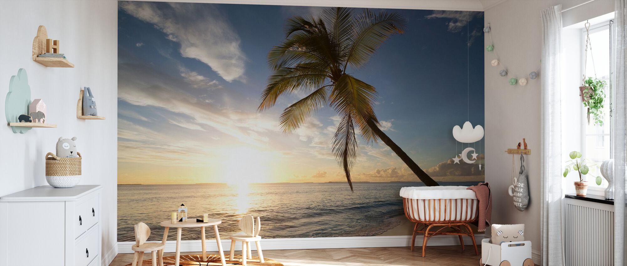 Tropical Sunset - Wallpaper - Nursery