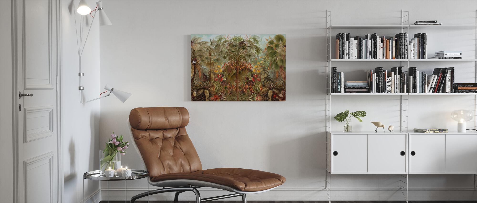Aap Zie Aap Wah - Canvas print - Woonkamer