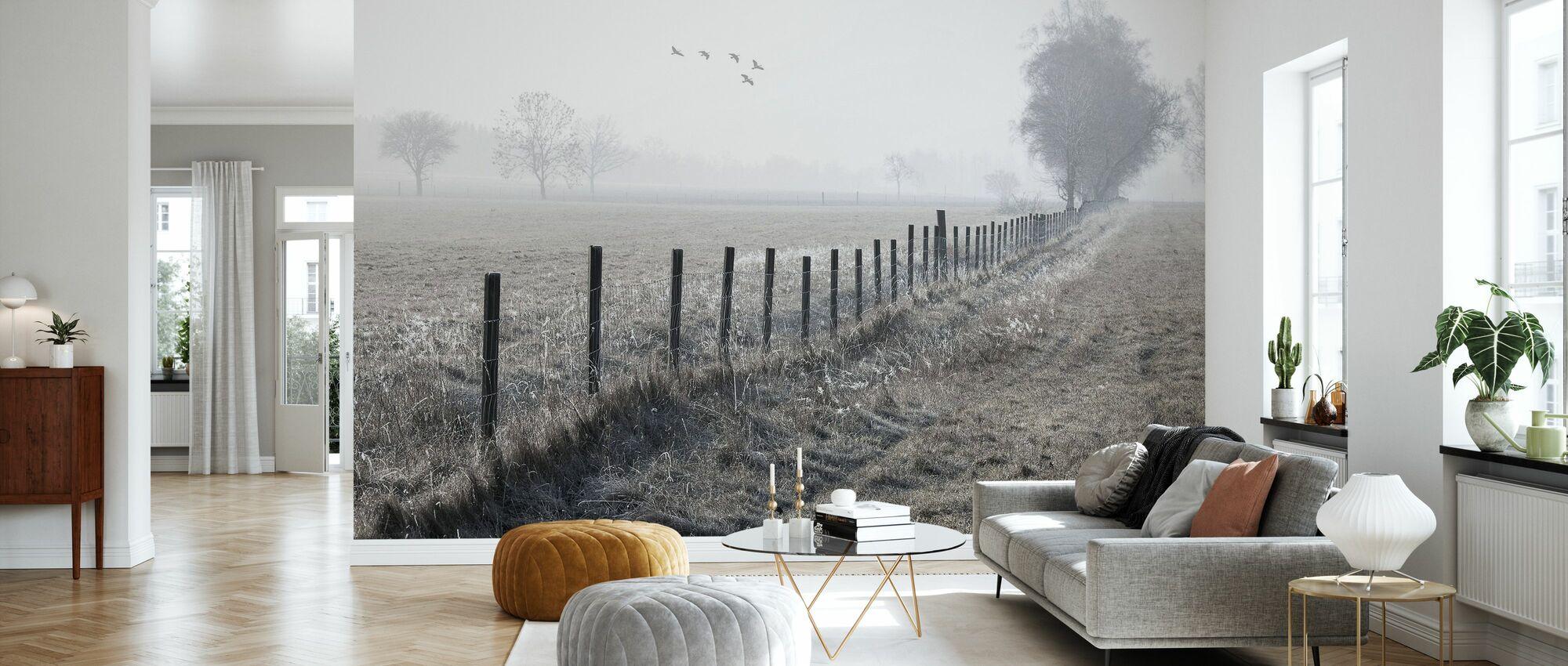 Foggy Morning - Wallpaper - Living Room