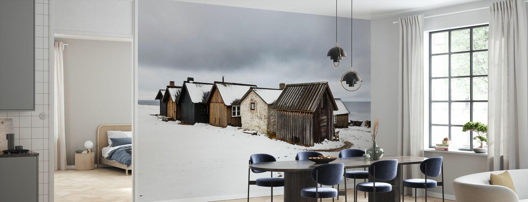 Helgumannens Fishing Village - Wallpaper - Kitchen