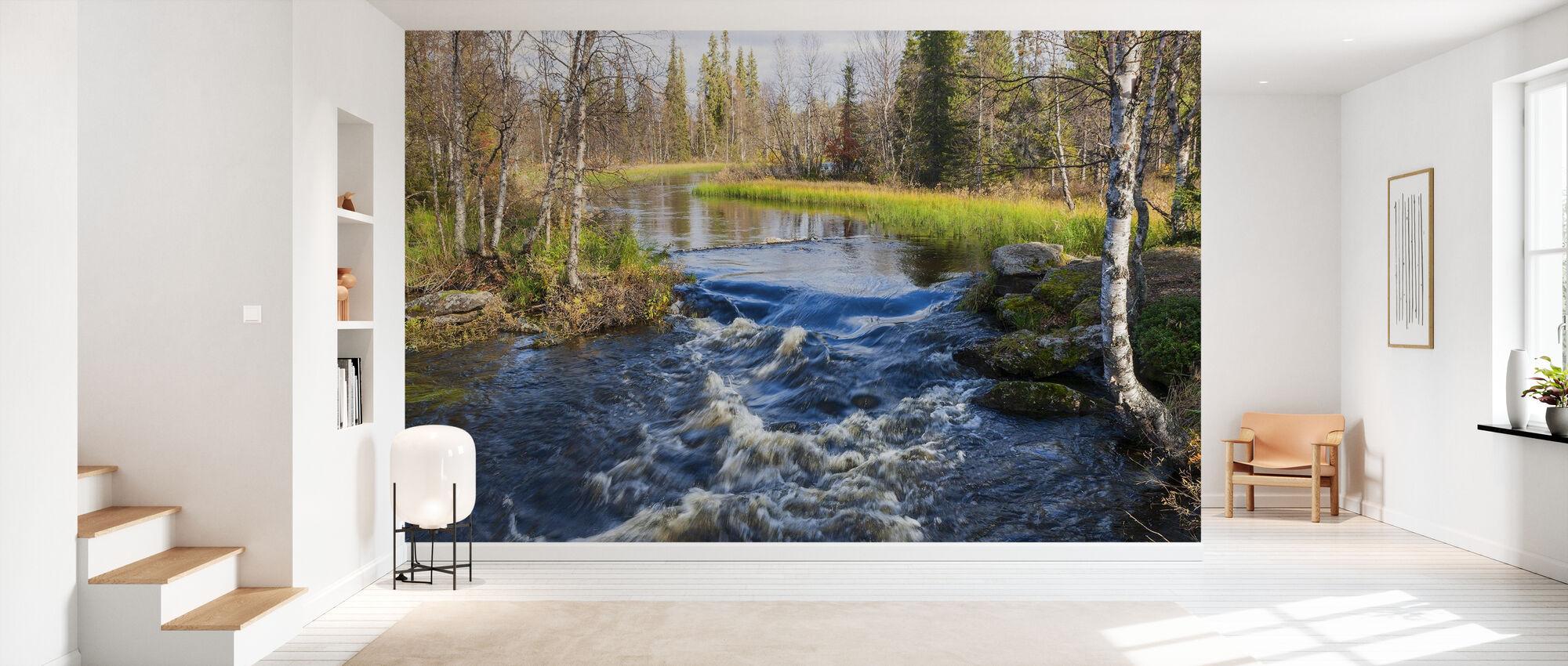 Lapland River - Wallpaper - Hallway
