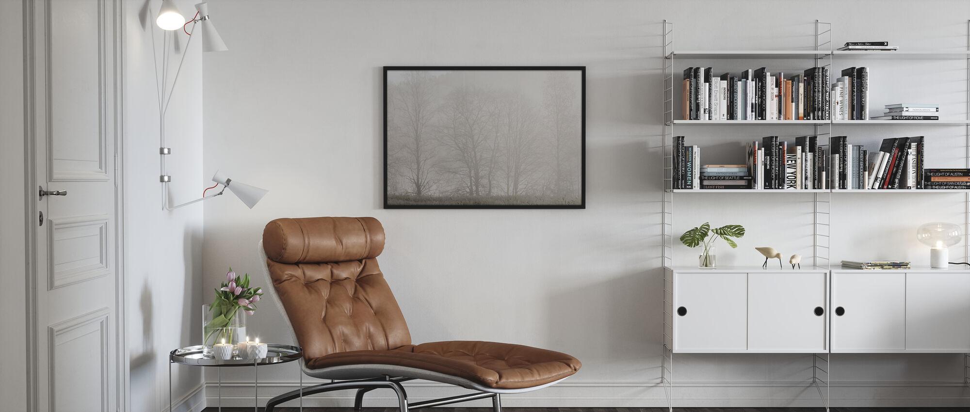 Mystery Morning - Framed print - Living Room