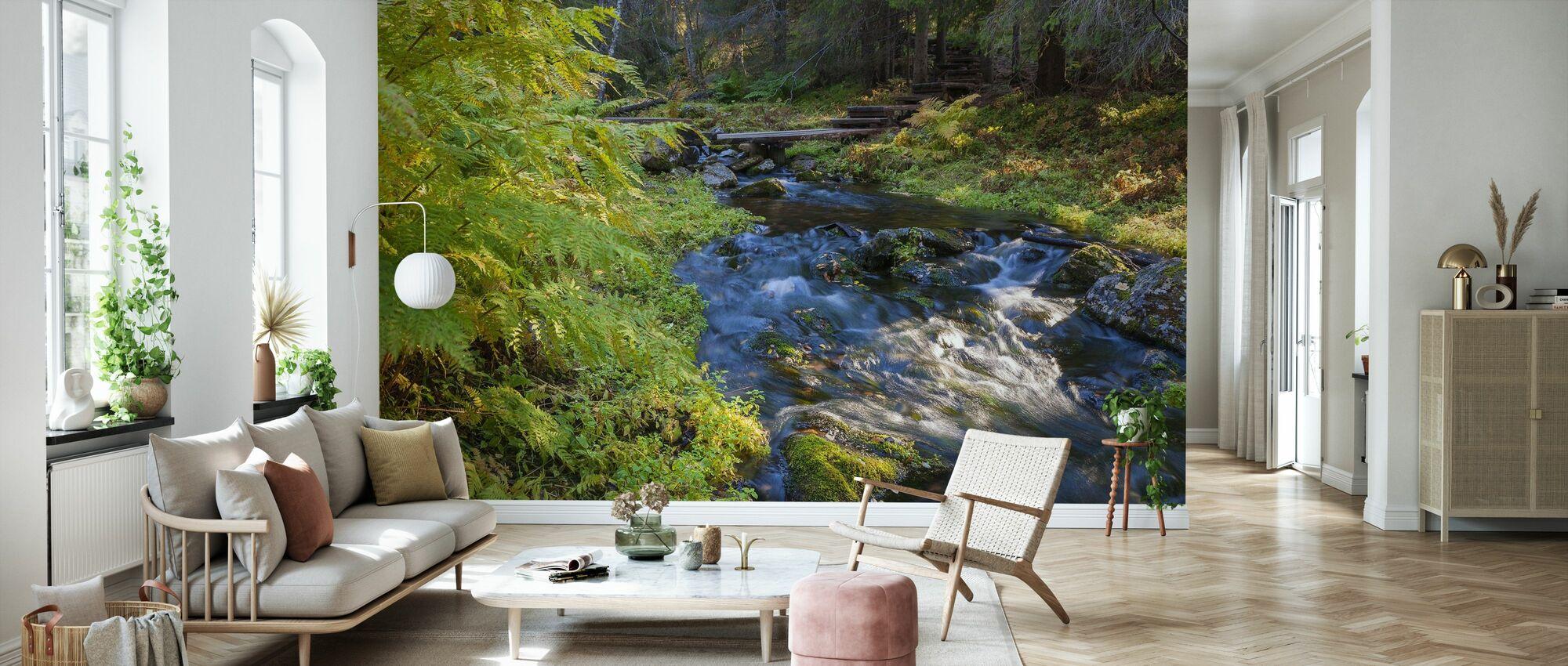 National park Finland - Wallpaper - Living Room