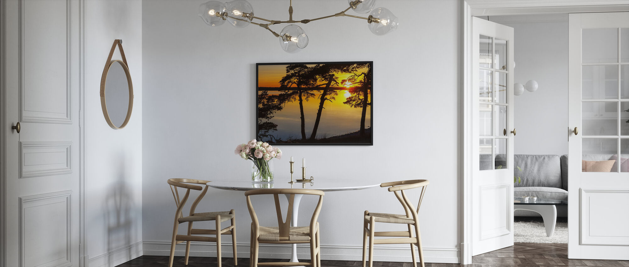 Sunset the Baltic Gotland - Poster - Kitchen