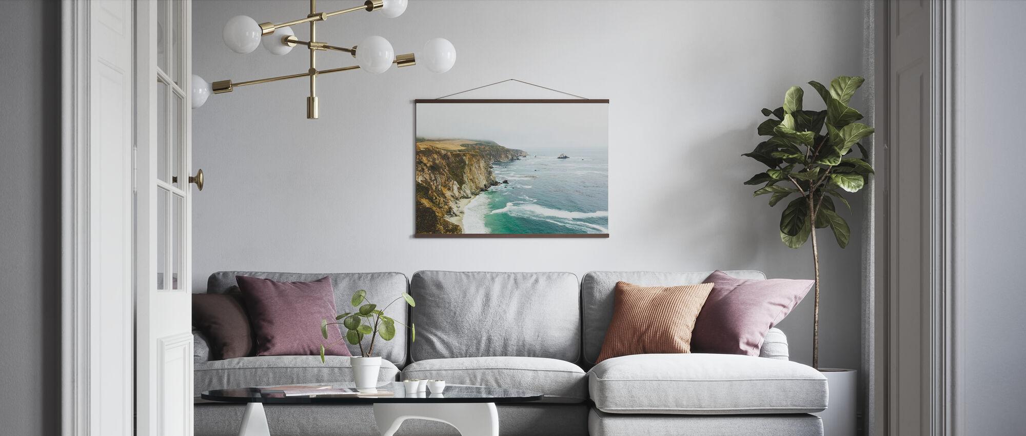 Big Sur, California - Poster - Living Room