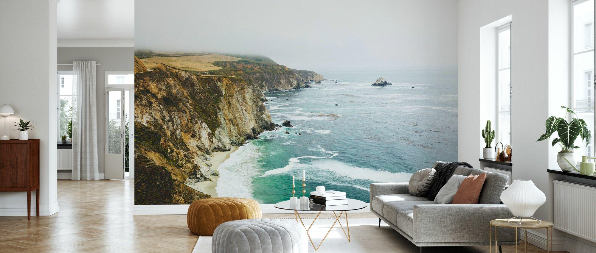 Big Sur, California - Wallpaper - Living Room