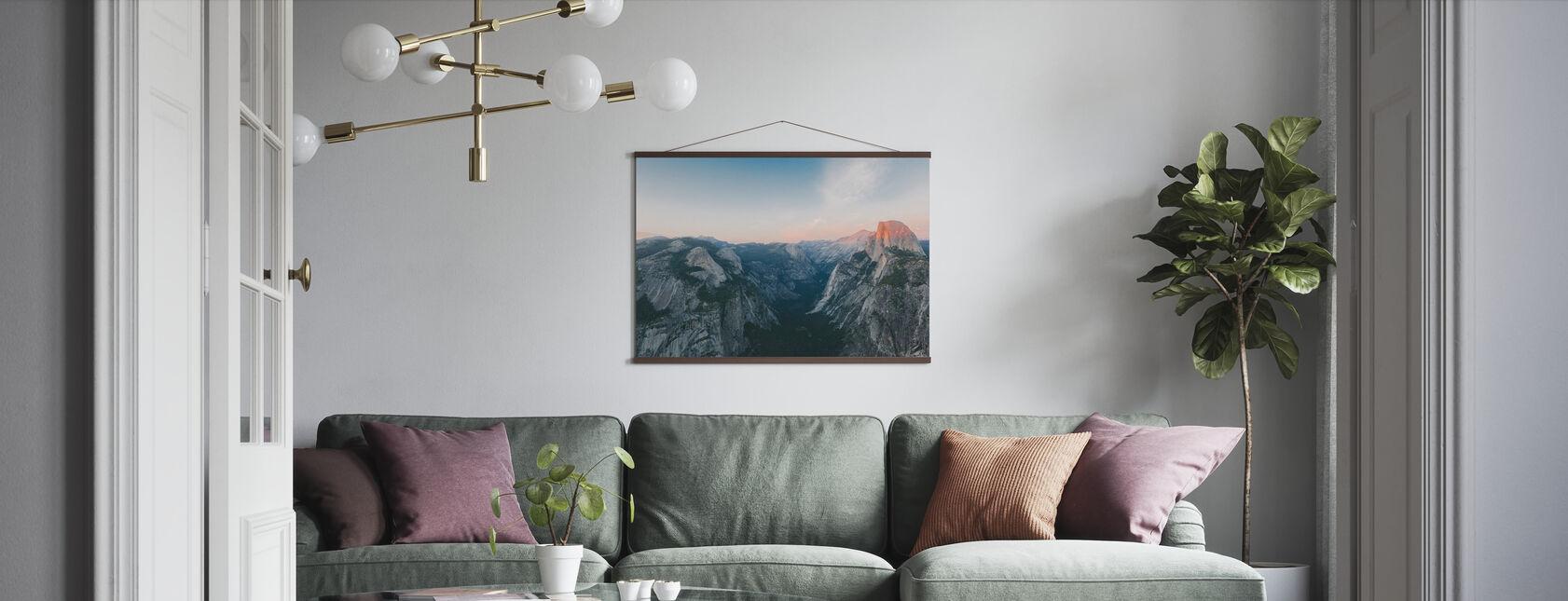 Halva kupol, Yosemite nationalpark - Poster - Vardagsrum