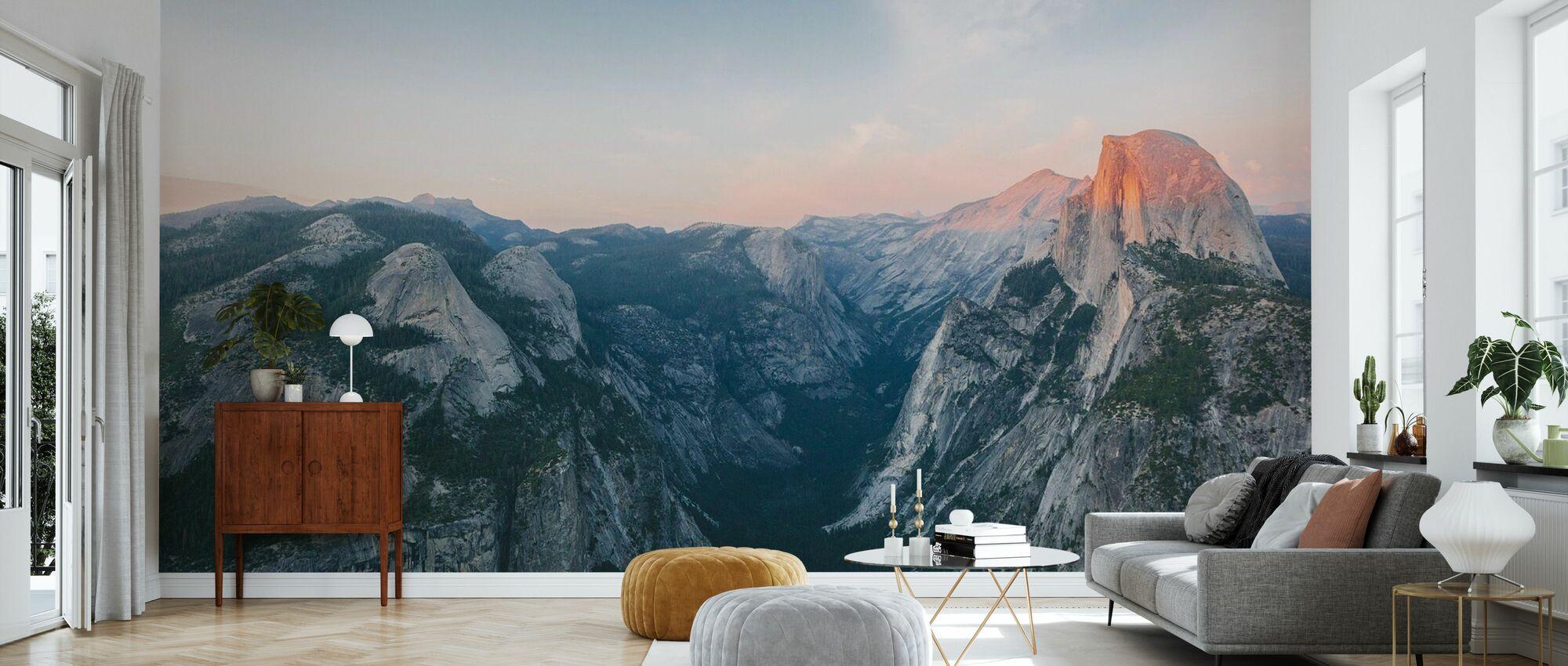Halbe Kuppel, Yosemite Nationalpark - Tapete - Wohnzimmer