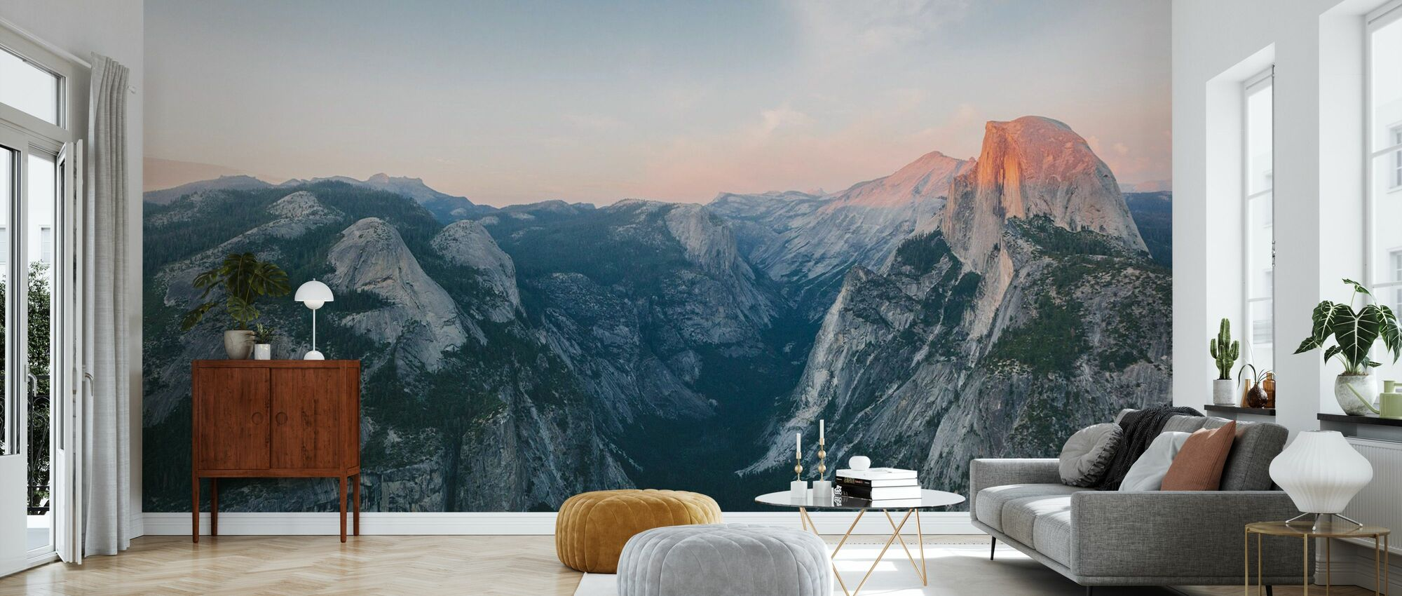 Half Dome, Yosemite National Park - Wallpaper - Living Room