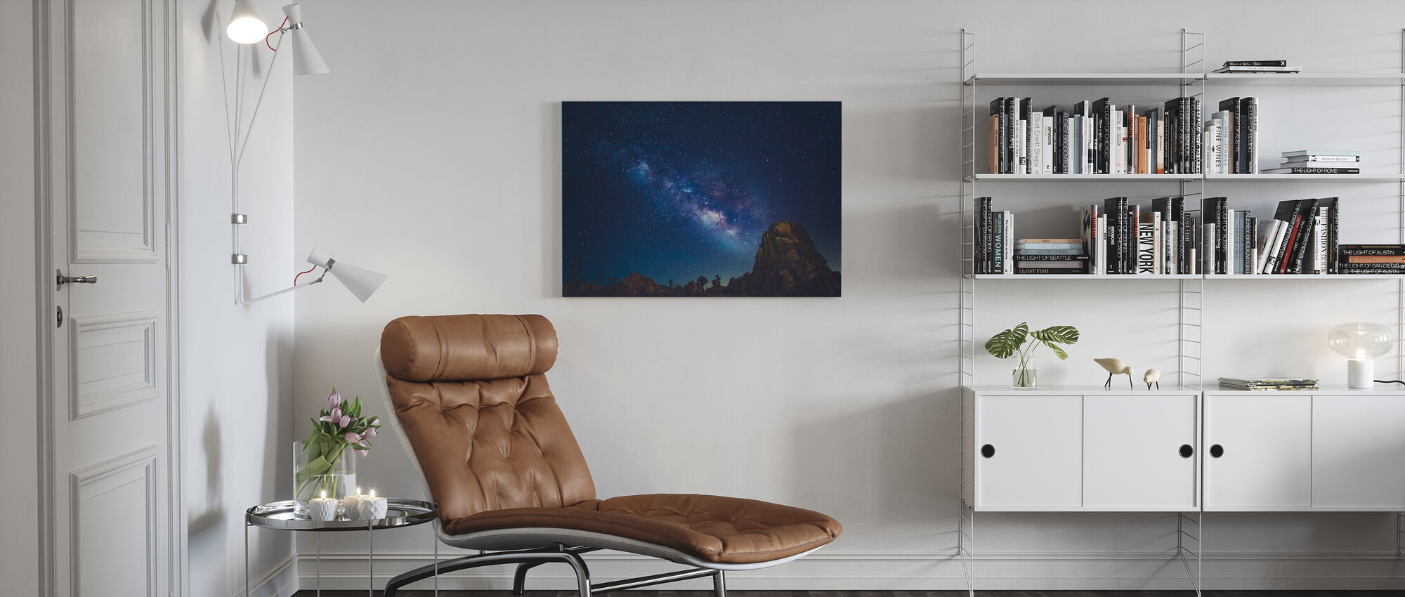 Stars of Joshua Tree, California - Canvas print - Living Room