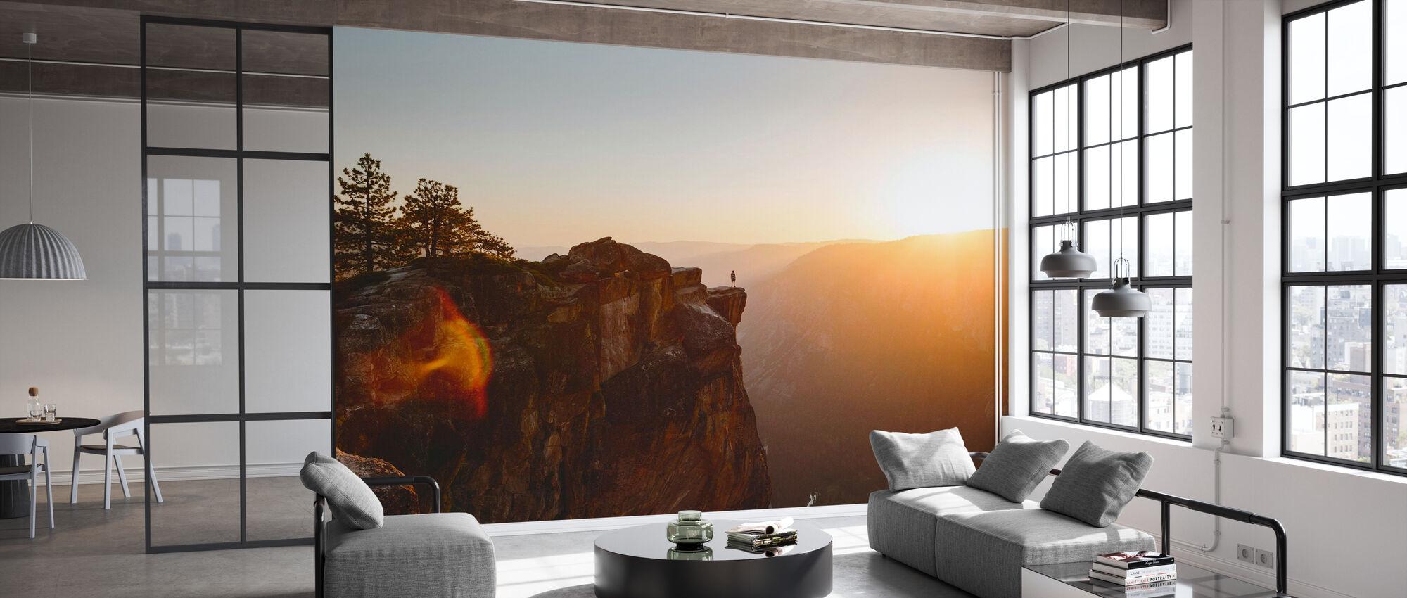 Taft Point, Yosemite National Park - Wallpaper - Office