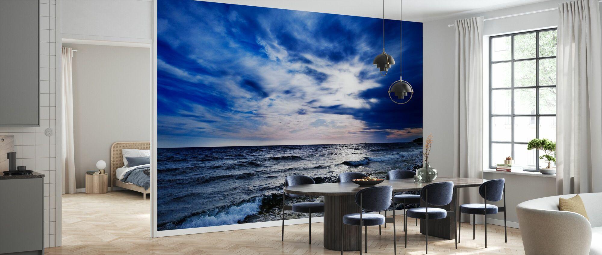 Blue Waves of Torö, Sweden - Wallpaper - Kitchen