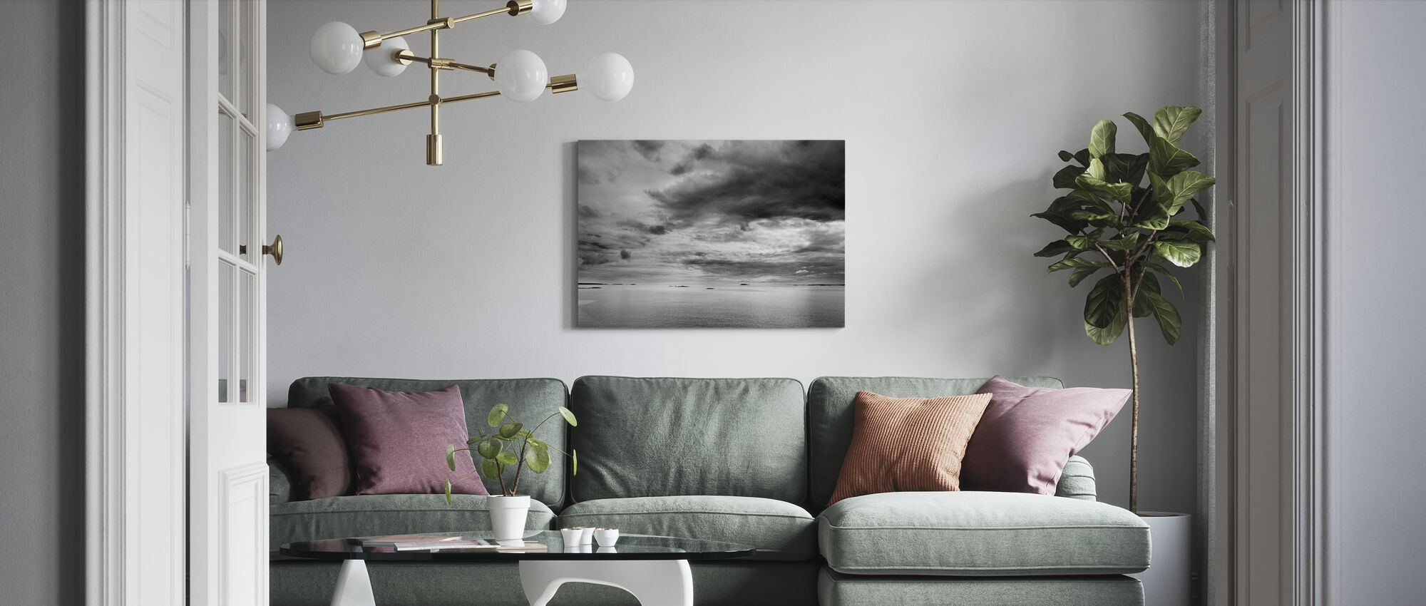 Lake Malar - Canvas print - Living Room