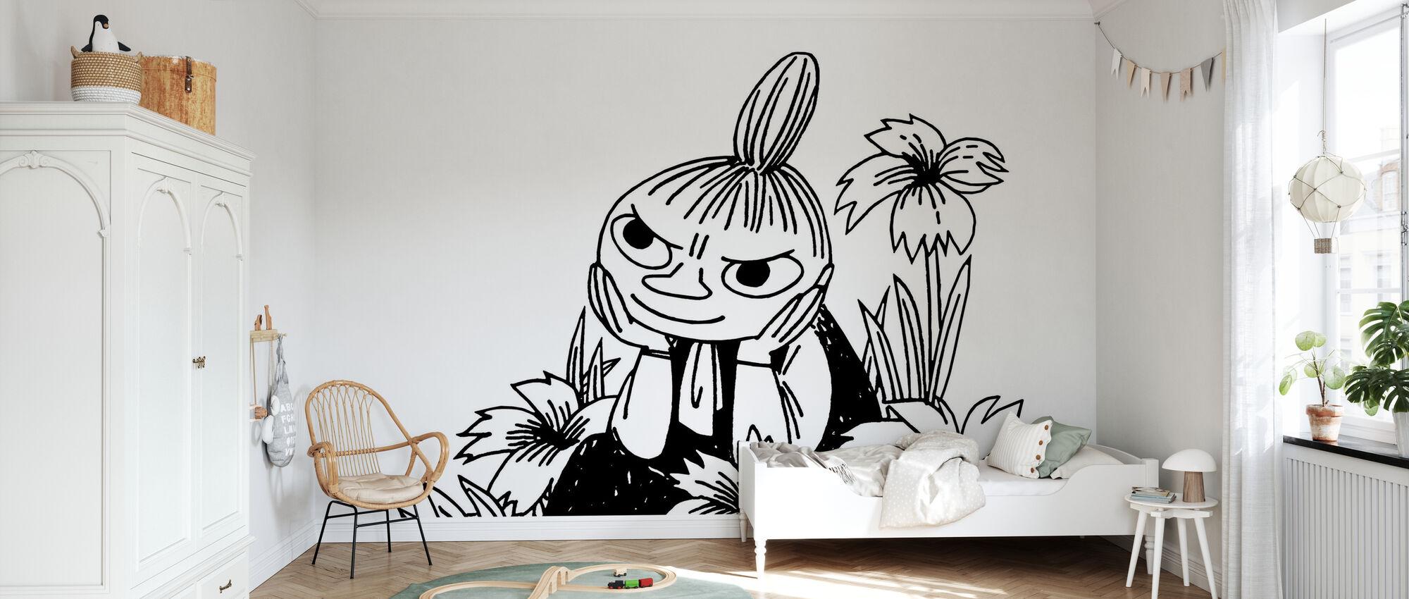 Mumin - Verschiedenes Little My - Tapete - Kinderzimmer