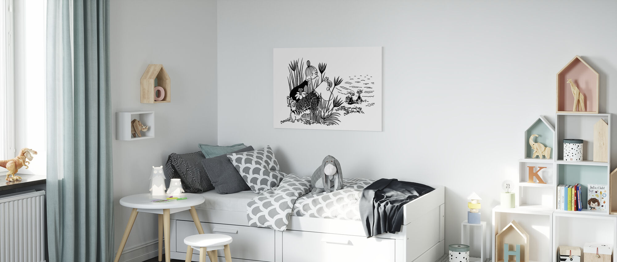 Moomin - Pirate Picnic - Canvas print - Kids Room
