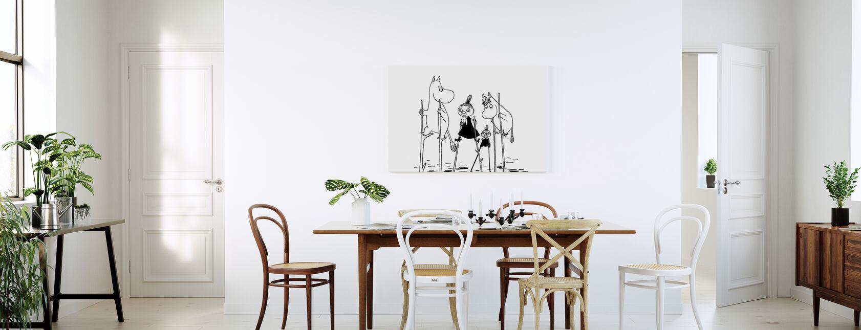 Moomin - Treasures Lost at Sea - Canvas print - Kitchen