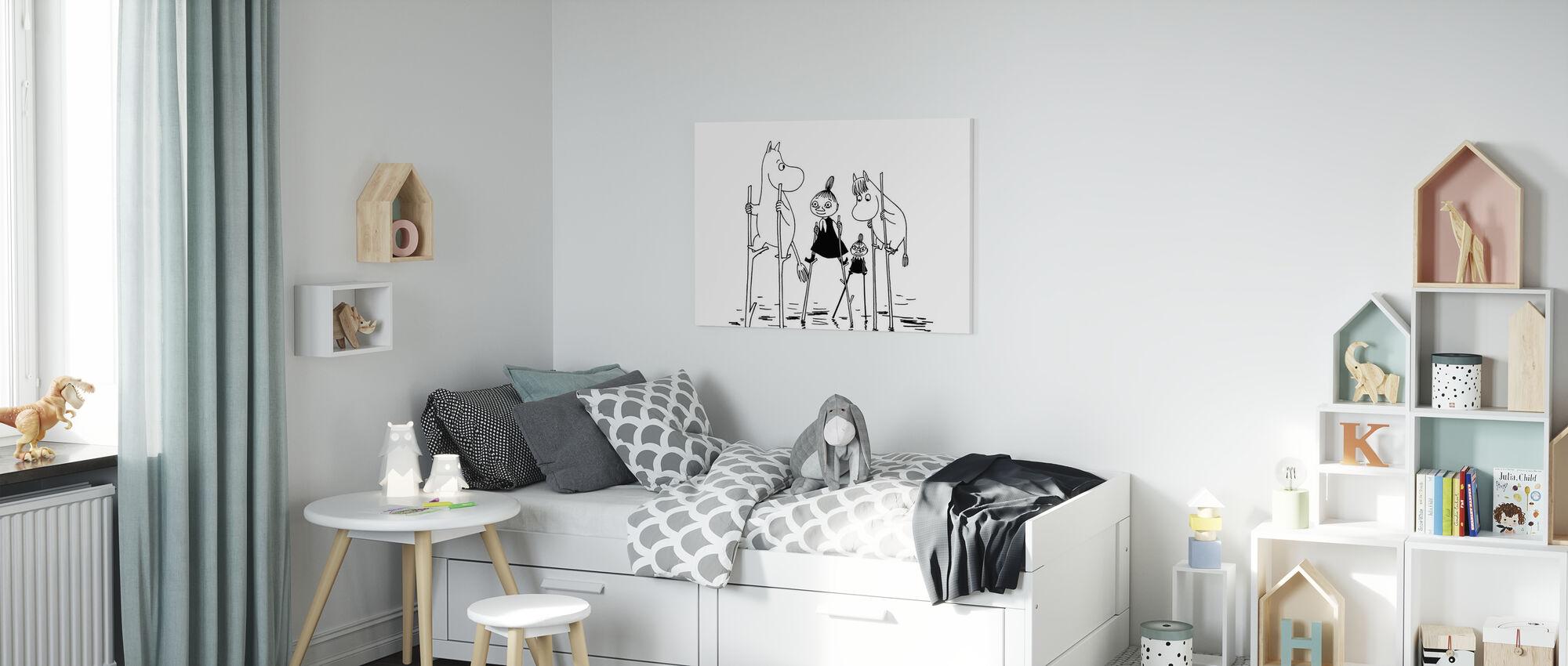 Moomin - Treasures Lost at Sea - Canvas print - Kids Room
