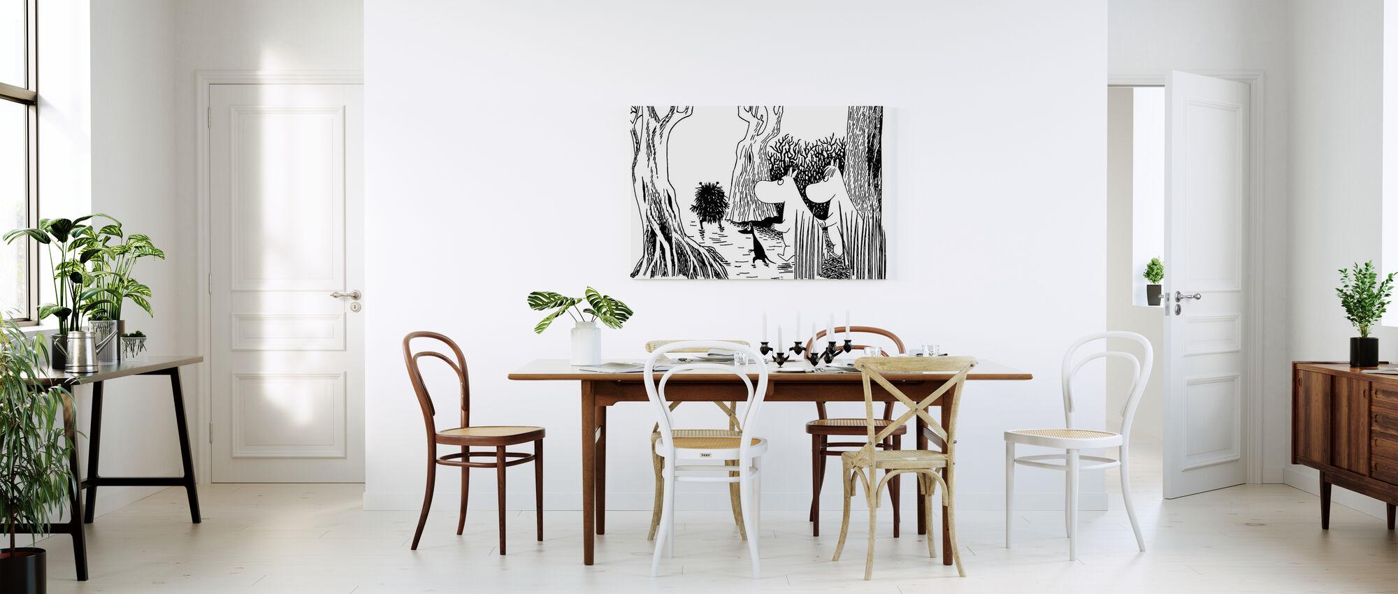 Moomin - Stinky - Canvas print - Keuken