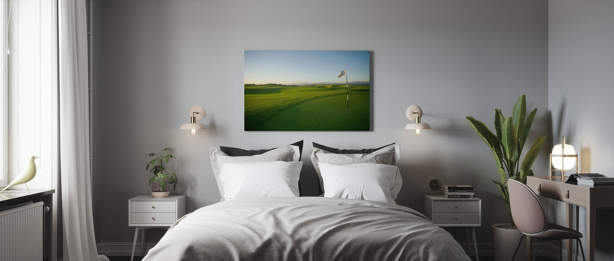 South African Golf Course - Canvas print - Bedroom