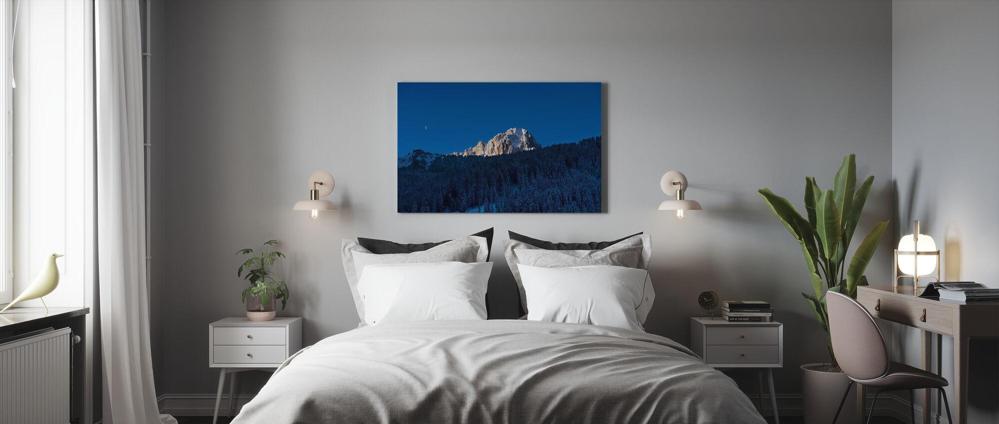 Val Gardena, Dolomieten in Italië - Canvas print - Slaapkamer