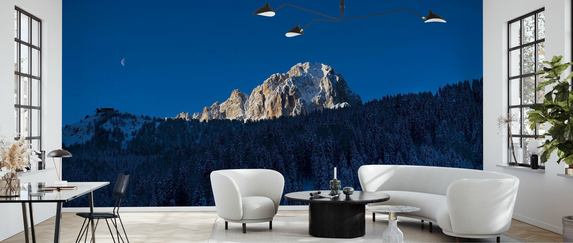 Val Gardena, Dolomites in Italy - Wallpaper - Living Room