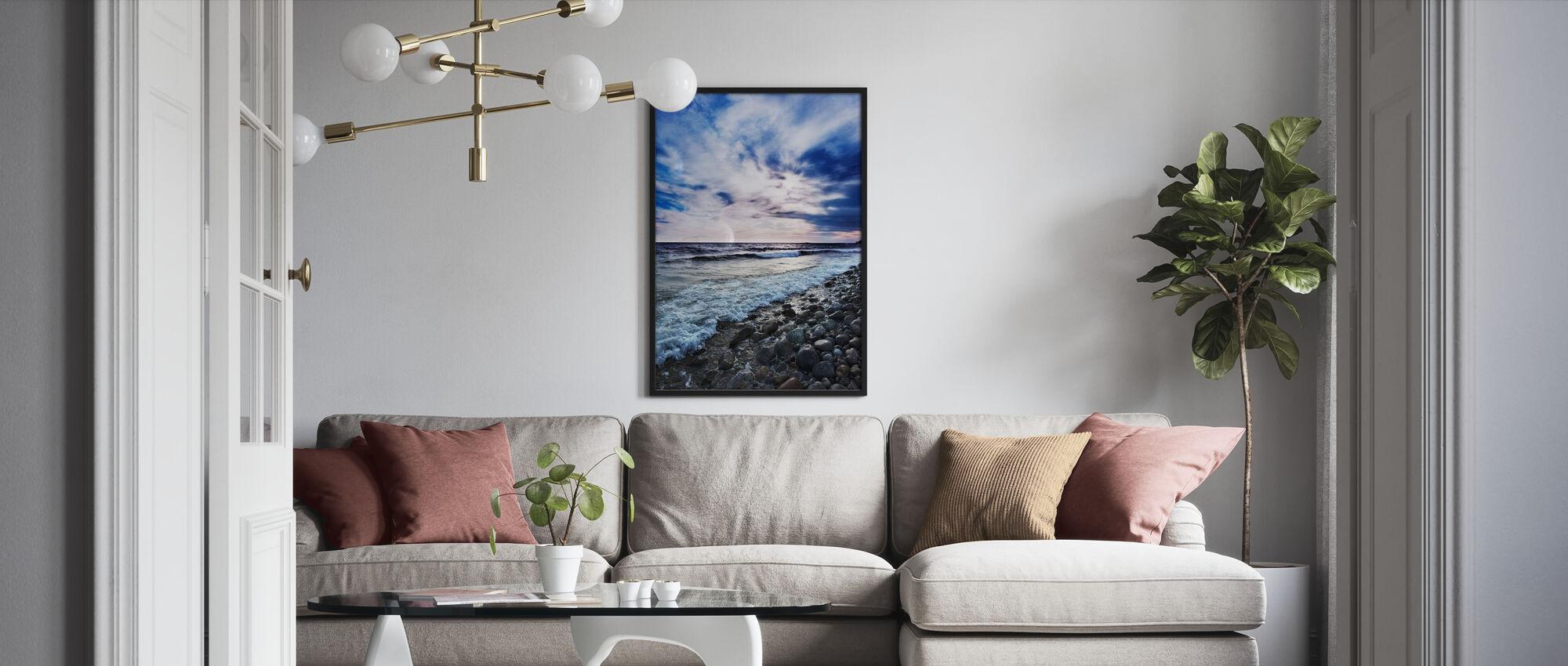 Waves of Torö, Sweden - Poster - Living Room